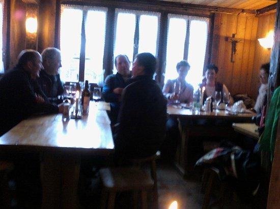 Bergrestaurant Blatten : Interior of restaurant
