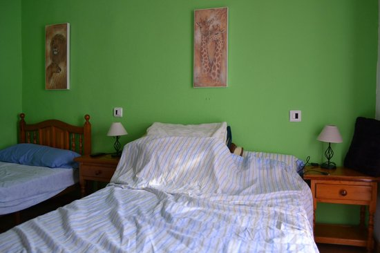 Hostal Ronda Sol: Our beds