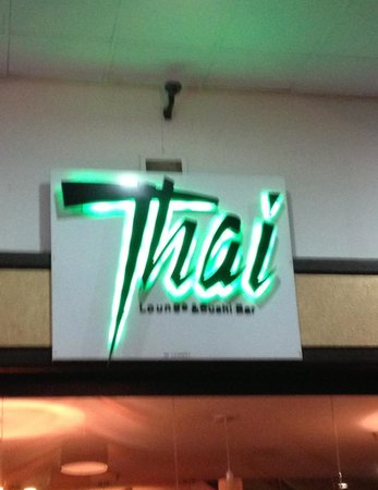Thai lounge & sushi bar