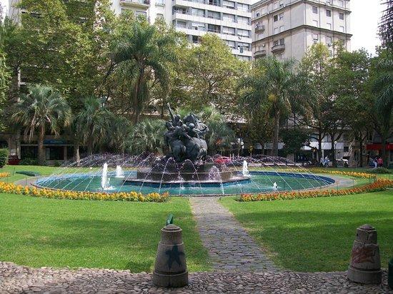 La Plaza Fabini o Plaza del Entrevero
