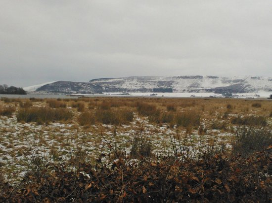 Loch Leven Heritage Trail: view from path