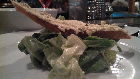 Oakleaf: Buttercrunch Lettuce, Buttermilk Dressing, Deviled Egg Crostini