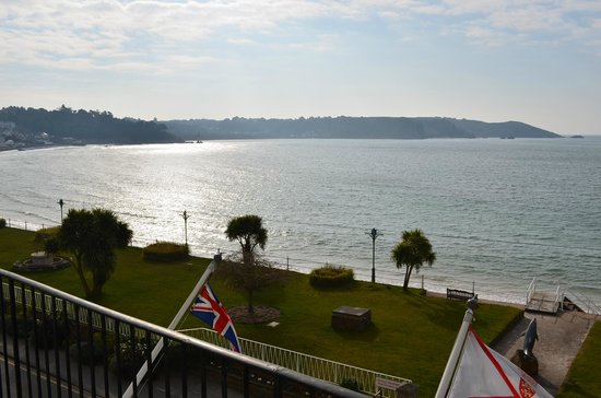 St. Brelades Bay Hotel: View from the balcony of room 35