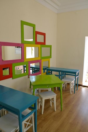 Oporto City Hostel: shared area