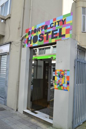 Oporto City Hostel: entree