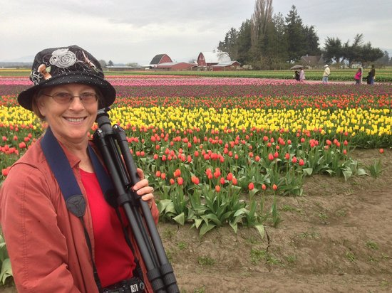 Shutter Tours - Day Tours : A happy photographer at Roozen Gaarde.