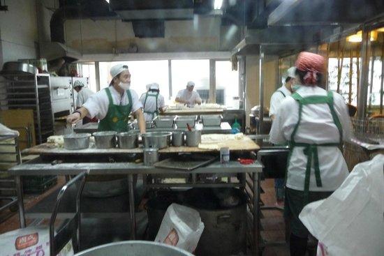 Huashan Market: ガラス張りです