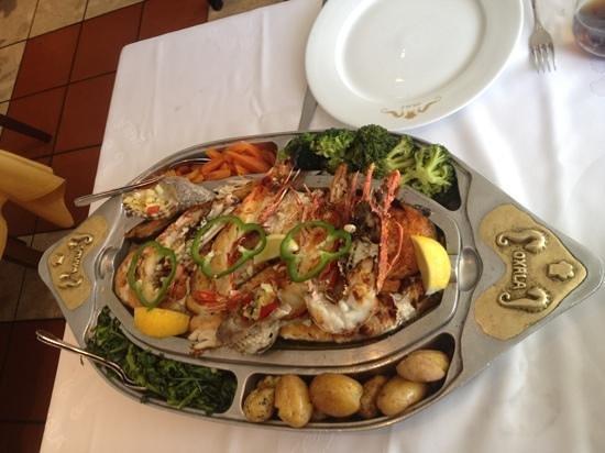 Restaurante Oxala: Sinfonia De Marisco
