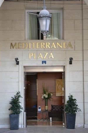 Eurostars Mediterranea Plaza Alicante: entrance