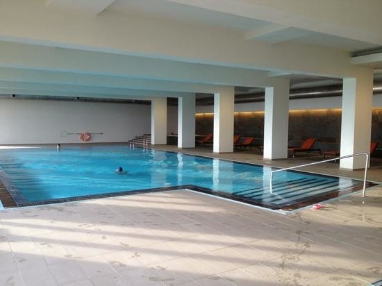 Montebelo Aguieira Lake Resort & Spa: piscina interior