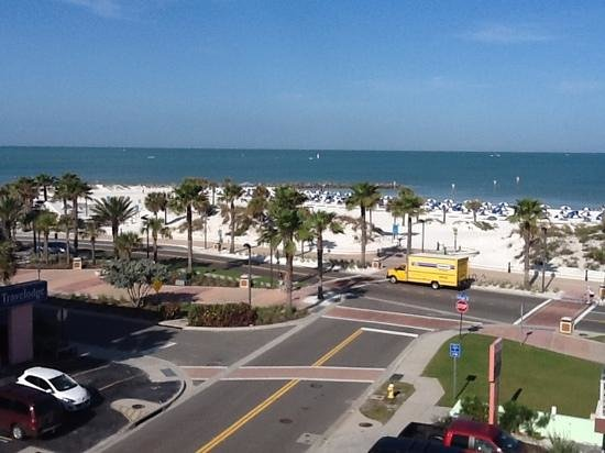 Beachwalk Inn: view from fifth floor?  perfect beach