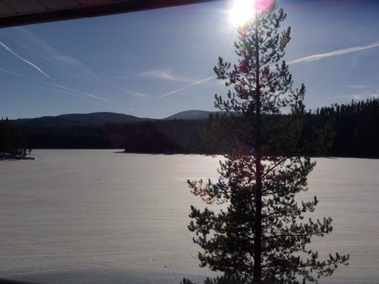 Idabel Lake Resort: View from our balcony