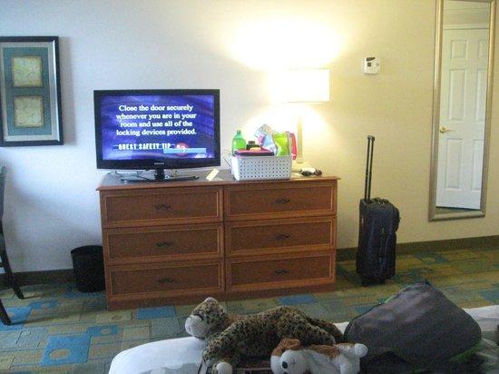 La Quinta Inn & Suites Orlando Convention Center: flat screen t.v.'s
