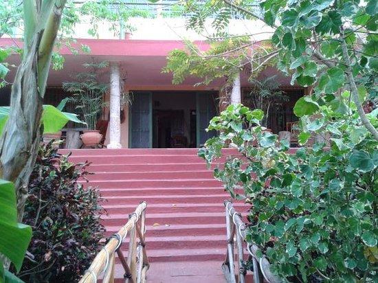 Casa Hamaca Guesthouse: the entrance