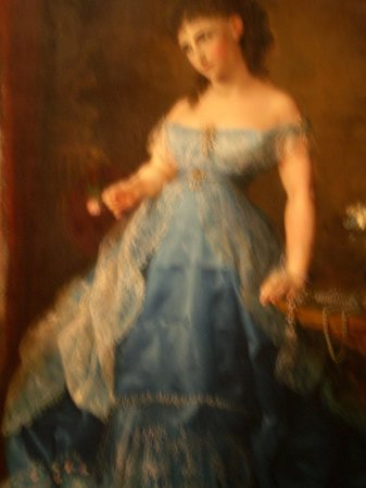 Donald W. Reynolds Center for American Art and Portraiture: Portrait of a pretty woman dressed in blue