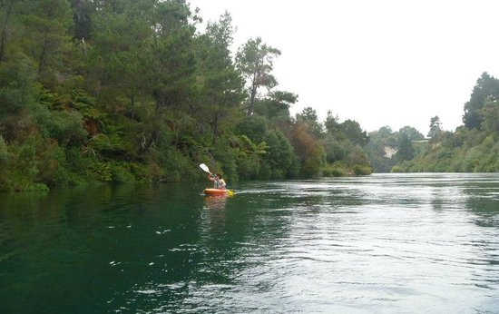 Rapid Sensations Ltd: Me on the Waikato River!
