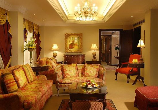 Safir Suite Living Room Picture Of International Hotel Kuwait Kuwait City