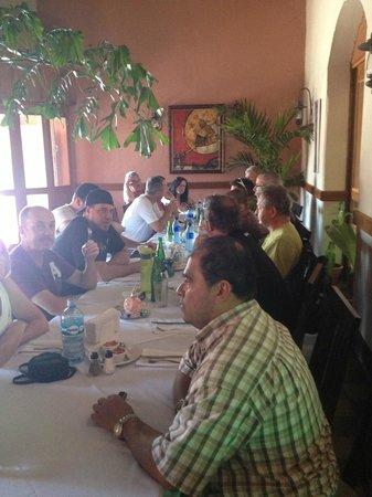 La Claraboya Restaurante: great friends