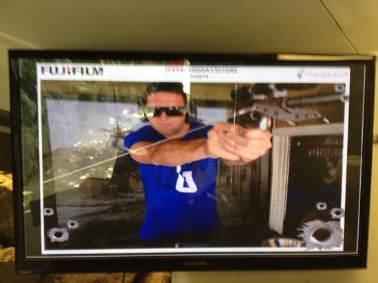Hamilton Island Target Sports: pew pew 'merica!