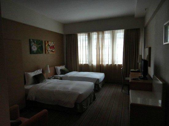 Park Hotel Hong Kong: 雙人單床房間