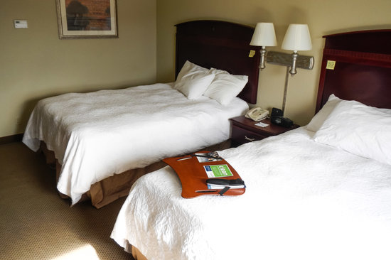 Hampton Inn & Suites Florence-Downtown: Double Queen Room