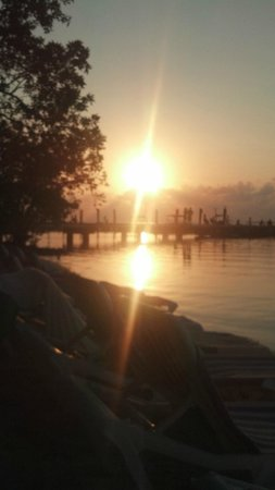 Just one of the great sunsets at the Hilton Key Largo Resort