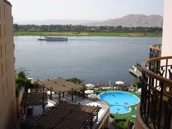 Lotus Luxor Hotel: Vista desde la habitacón