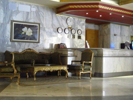 Lotus Luxor Hotel: Recepción