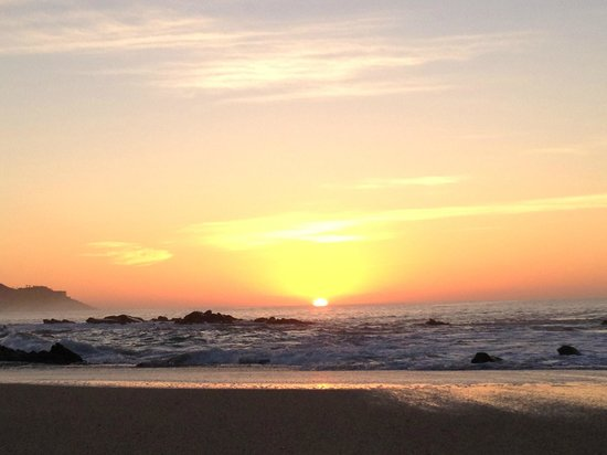 Hilton Los Cabos Beach & Golf Resort: Sunrise from the resort