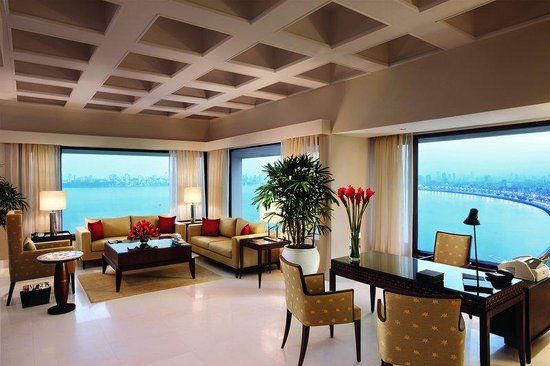 The Oberoi, Mumbai: Kohinoor Presedential Suite Living Room