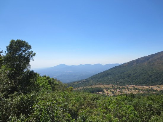 National Park Cerro Verde: View