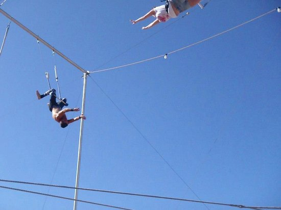 Trapeze Las Vegas: the moment I knew I was going to get it!