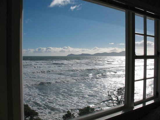 Killara Homestay: Kapiti Island from Guest Lounge