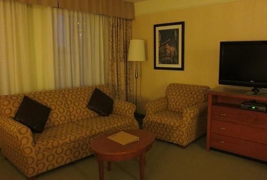 Hilton Garden Inn Montreal Centre-ville: Nice sitting area