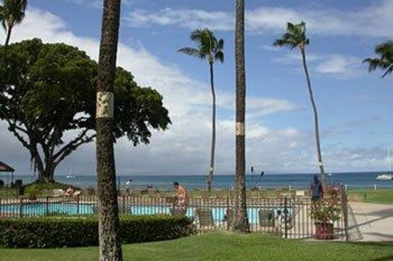 Maalaea Surf Resort: Pool View