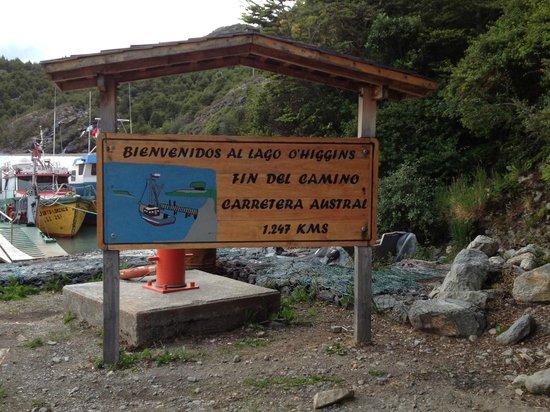 Lodge Robinson Crusoe Deep Patagonia: Zona del embarcadero
