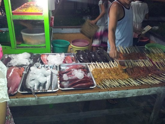 Gili Trawangan: Night markets