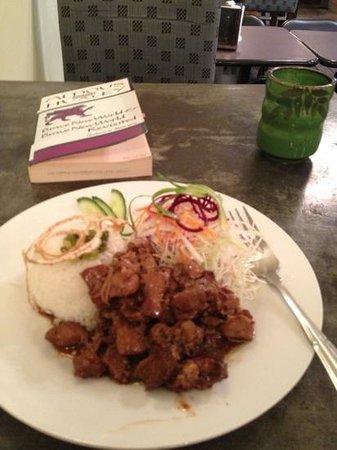 Wild Scallion : Yummy Chicken Teriyaki - avec Huxley and Ginger Tea