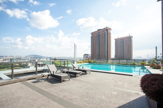 Rooftop swimming pool picture of the crib at bukit - Rooftop swimming pool kuala lumpur ...