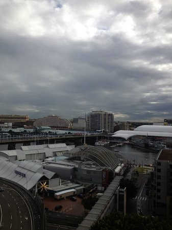Metro Apartments On Darling Harbour: View from Balcony