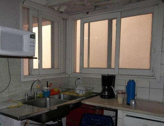 Hostel Simplemente Mendoza : Cocina