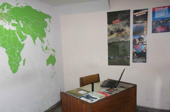 Hostel Simplemente Mendoza : Recepción