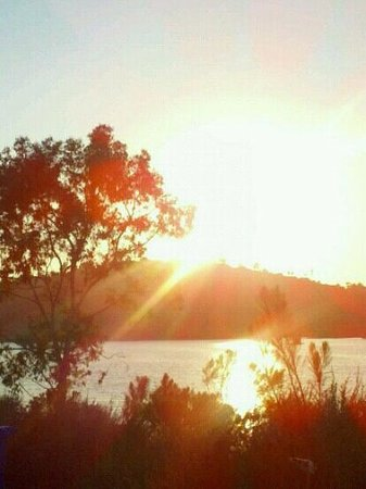 Lake Murray at Sunset,