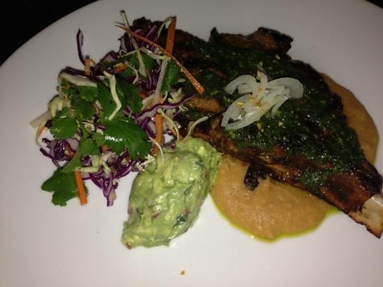 Absinthe Brasserie & Bar: pork chop