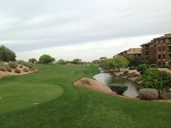 Kierland Golf Club: shooting in on the last hole!
