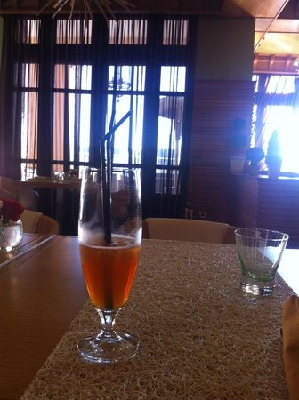 Michlifen Ifrane Suites & Spa : The Michlifen Ice Tea