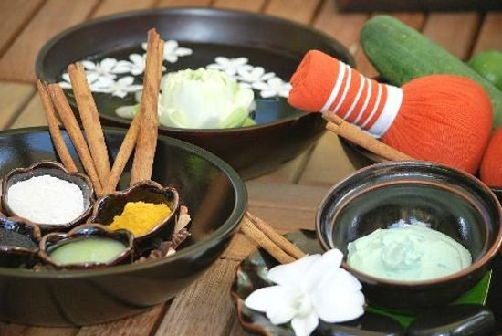 The Sunanda Spa: Natural Herbs and Spices
