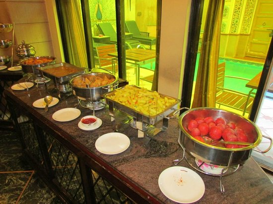 Umaid Mahal: Breakfast buffet..it changed daily..