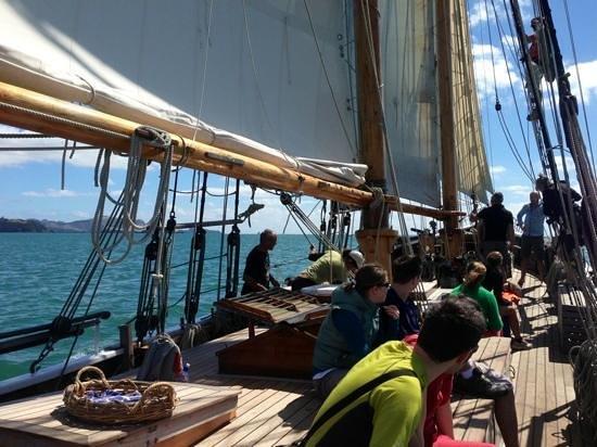 R. Tucker Thompson: sailing away! ahoy!