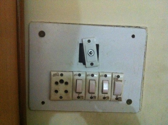 Muskan Hotel: prese elettriche
